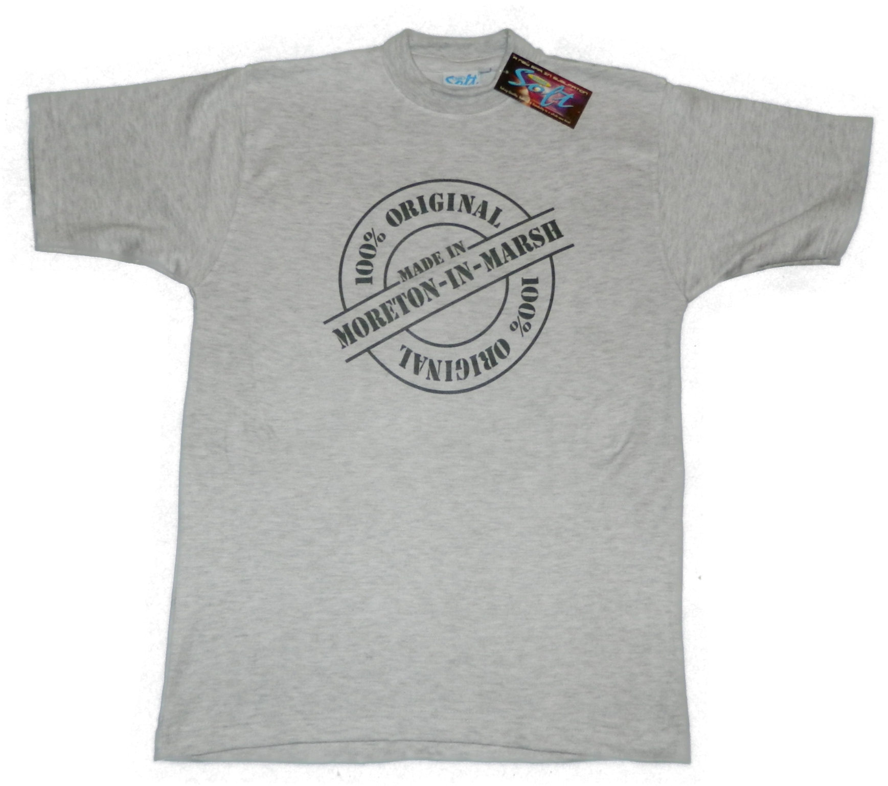 100% Original T-Shirt - Grey