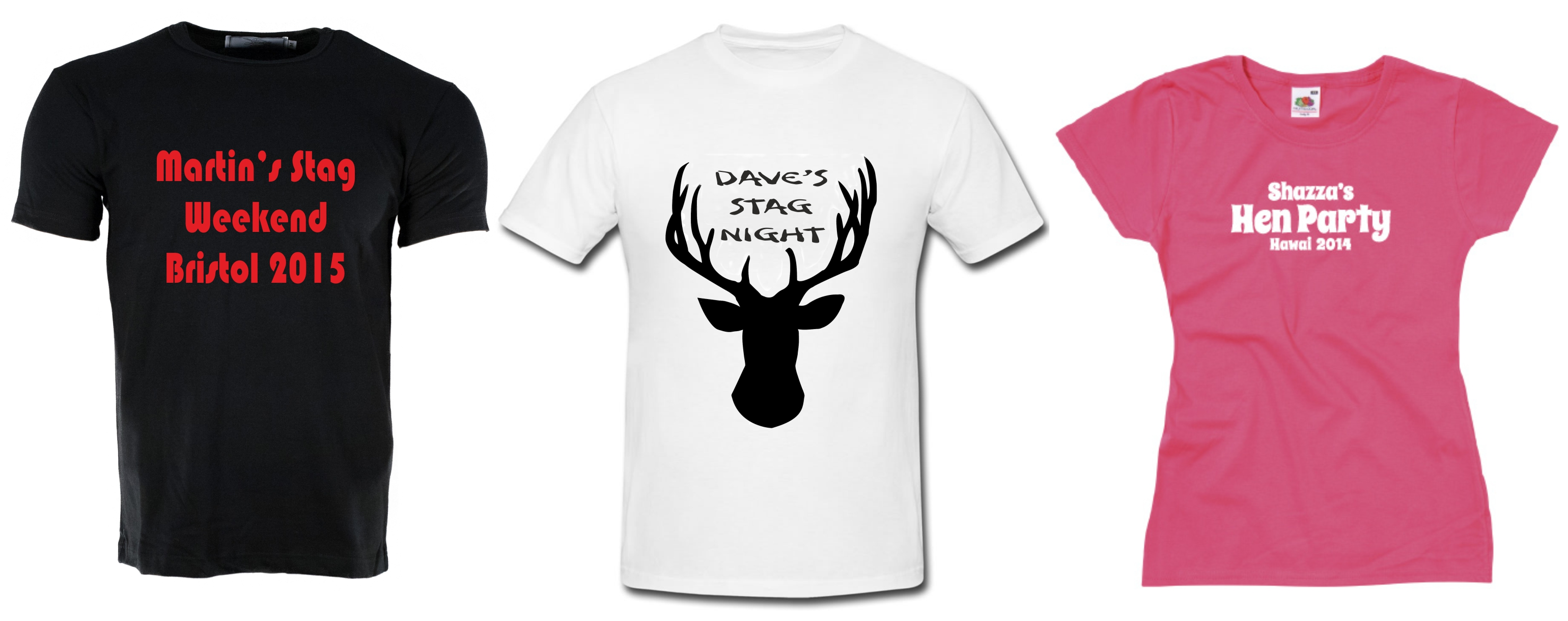 Stag/Hen Party T Shirt Deal 2