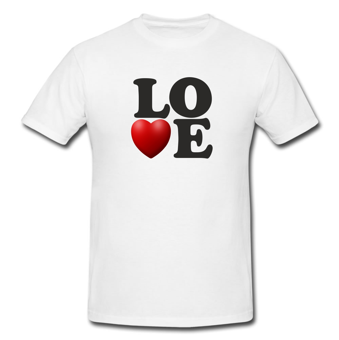 LOVE T Shirt - White